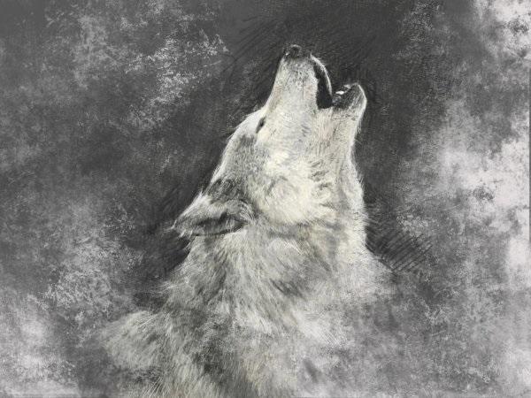 Крутые арты стая волков 017