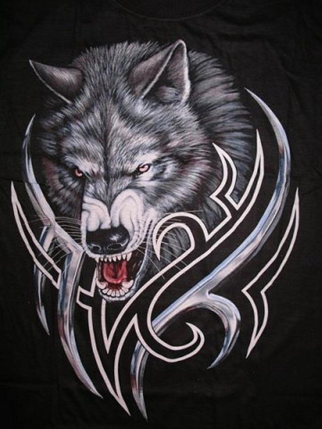 Крутые арты стая волков 018
