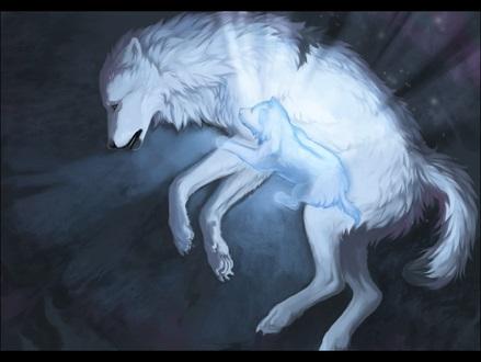 Крутые арты стая волков 023