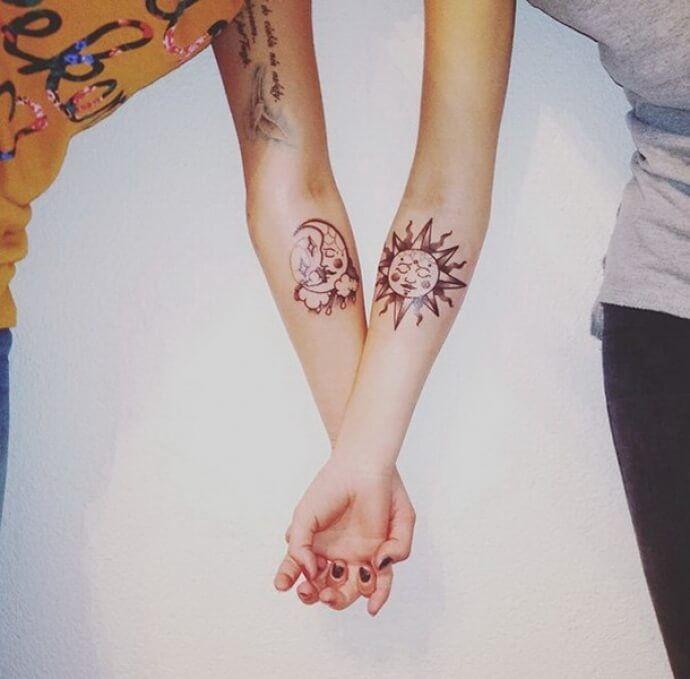 Крутые татуировки брат и сестра 001