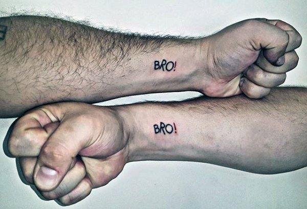 Крутые татуировки брат и сестра 003