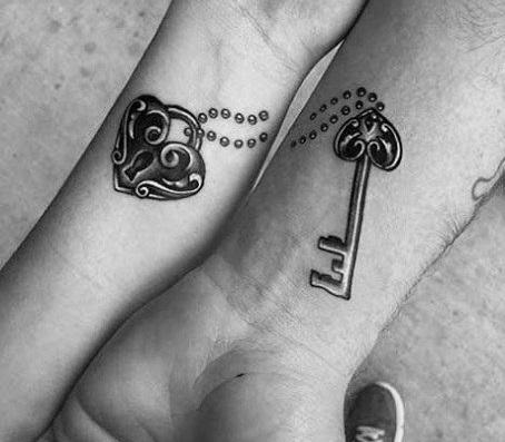 Крутые татуировки брат и сестра 017