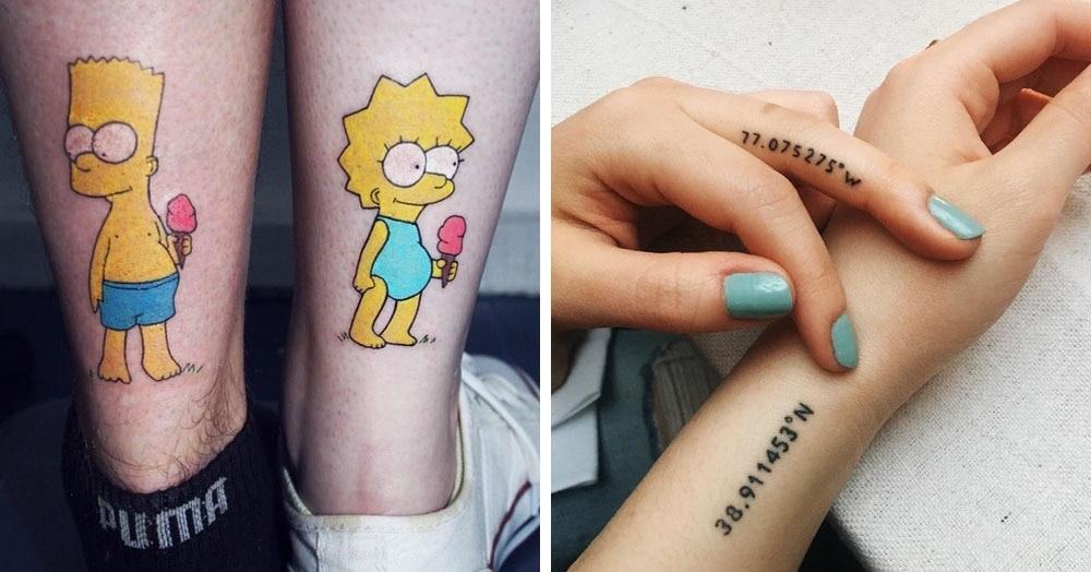 Крутые татуировки брат и сестра 023