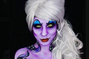 Крутые фото грима на хэллоуин зомби 029