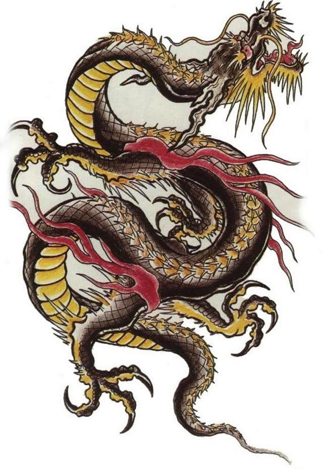 Лучшие арты китайского дракона 001