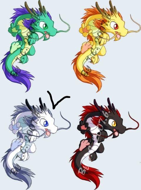 Лучшие арты китайского дракона 006