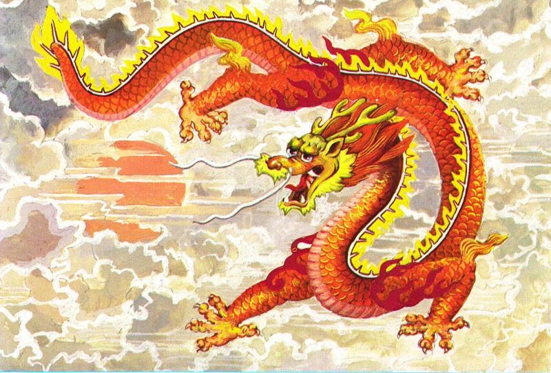 Лучшие арты китайского дракона 007