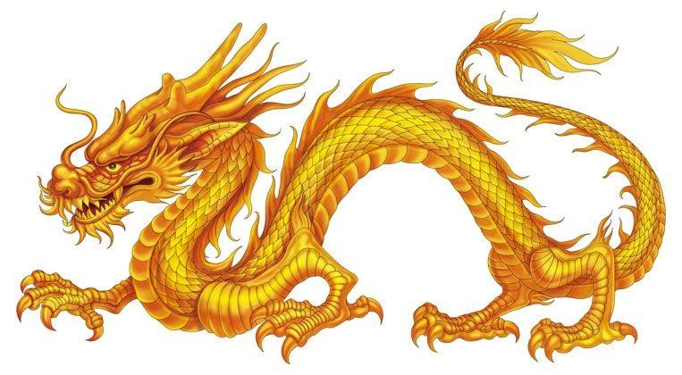 Лучшие арты китайского дракона 012