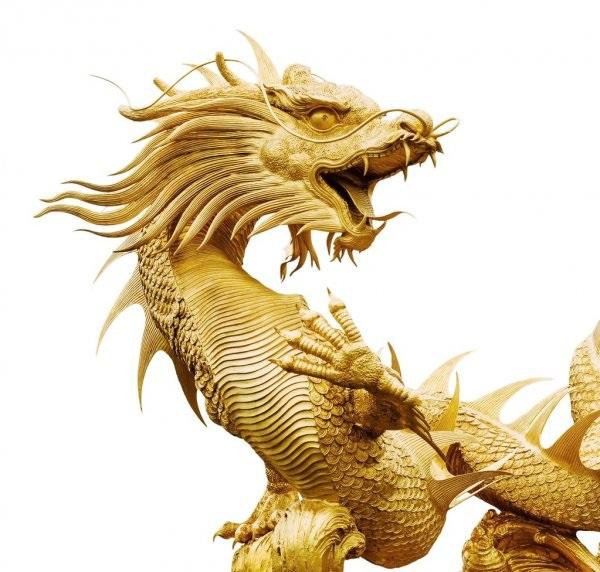 Лучшие арты китайского дракона 015