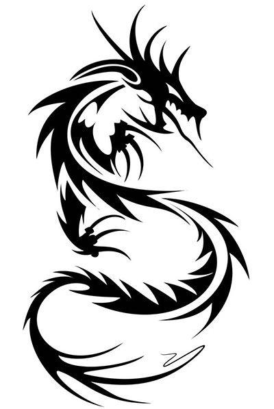 Лучшие арты китайского дракона 024