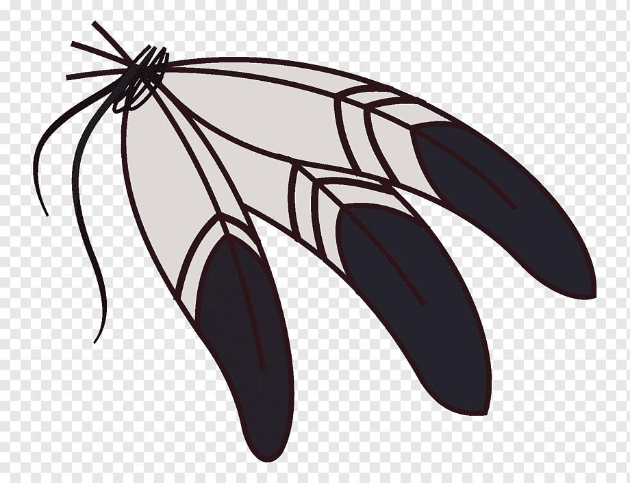 Милые картинки бабочки из перьев 009