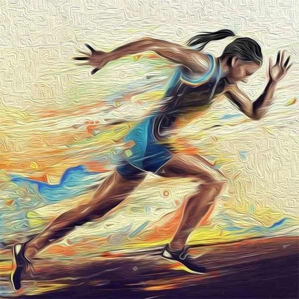Нарисовать рисунок на тему спорт 025