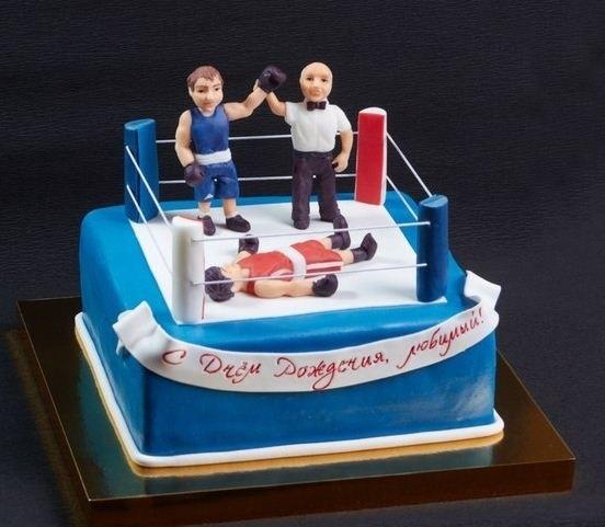 Открытки боксера с днём рождения 004