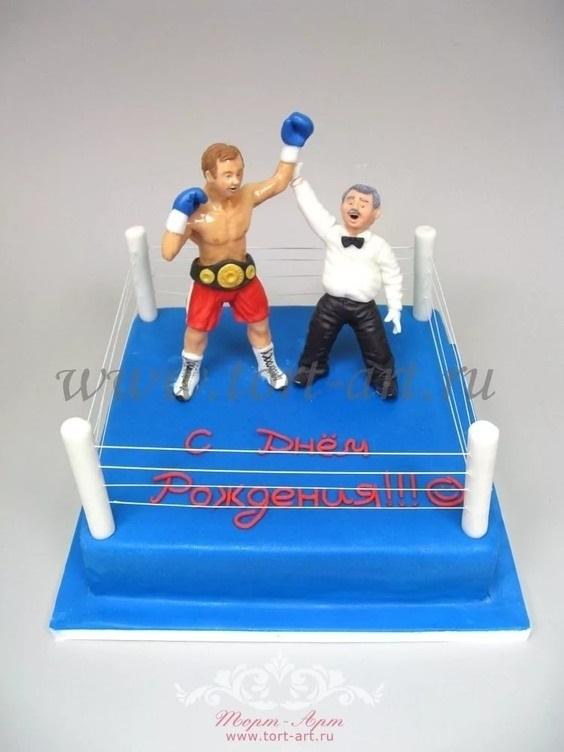 Открытки боксера с днём рождения 027