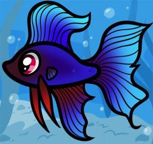 Прикольные рисунки на тему рыбы 014