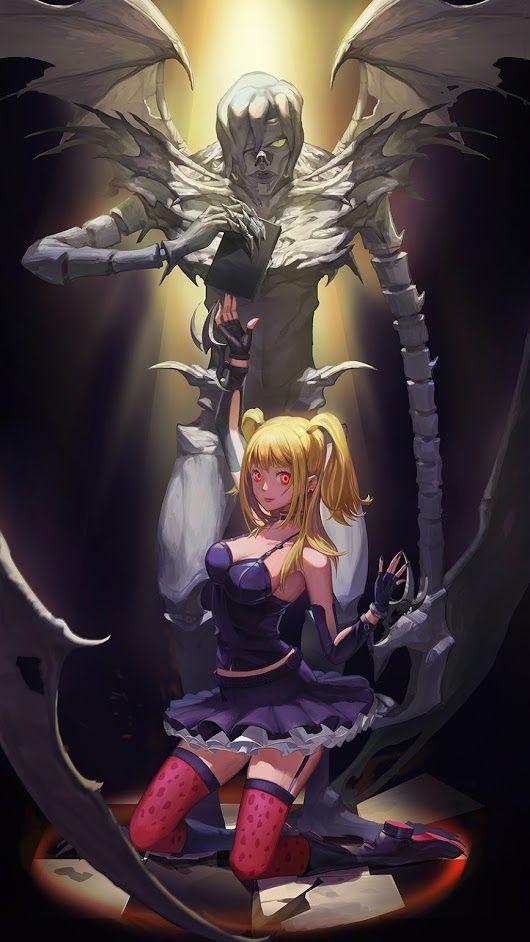 Арты с аниме тетрадь смерти 005