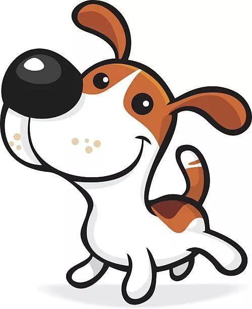 Забавные рисунки собак 011