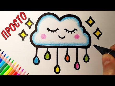 Кавайные зверюшки рисунки для детей 009