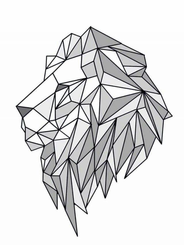 Красивые геометрические рисунки ручкой 005