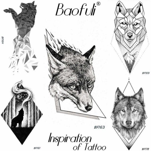 Красивые геометрические рисунки ручкой 017