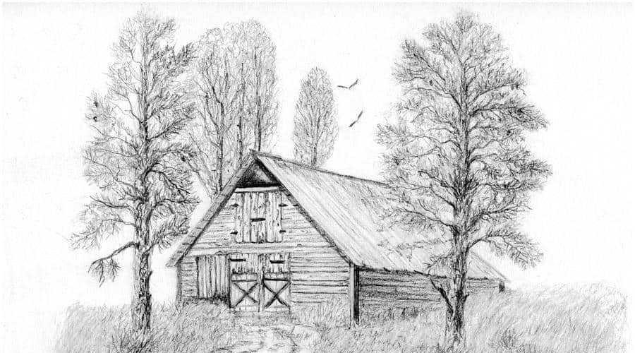 Красивые геометрические рисунки ручкой 018