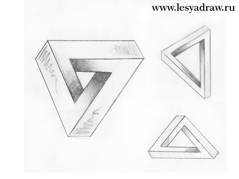 Красивые геометрические рисунки ручкой 020