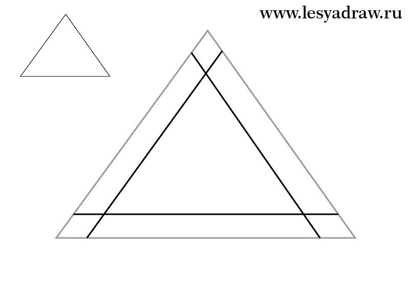 Красивые геометрические рисунки ручкой 024