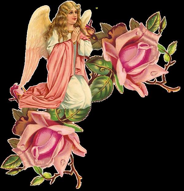 Красивые картинки для декупажа ангелы 001