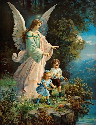 Красивые картинки для декупажа ангелы 002