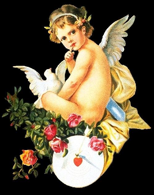 Красивые картинки для декупажа ангелы 019