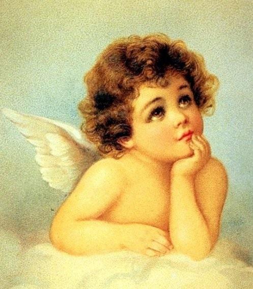 Красивые картинки для декупажа ангелы 021