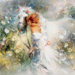 Красивые картинки для декупажа ангелы