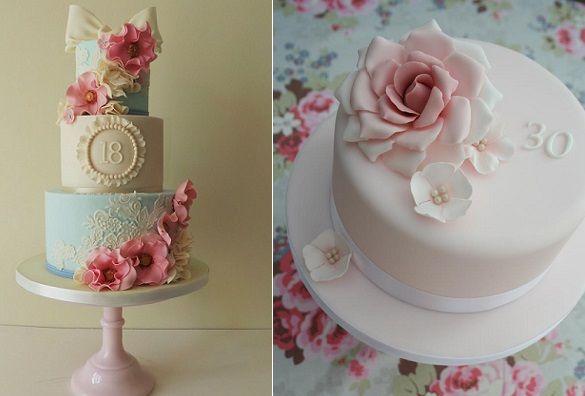Красивый и вкусный торт на юбилей женщине 80 лет фото 008