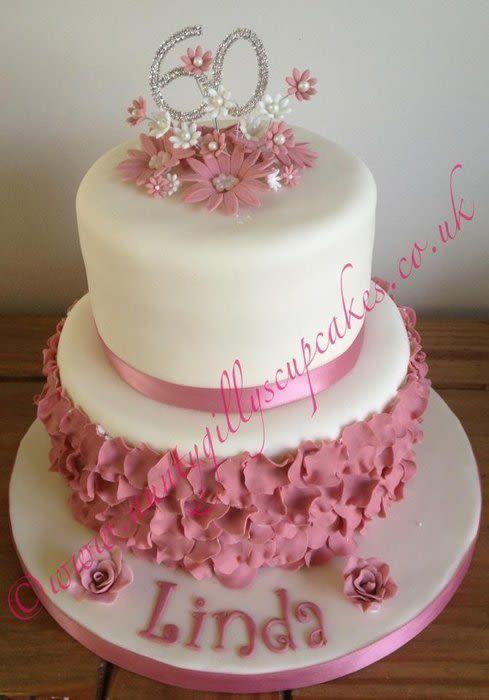 Красивый и вкусный торт на юбилей женщине 80 лет фото 020
