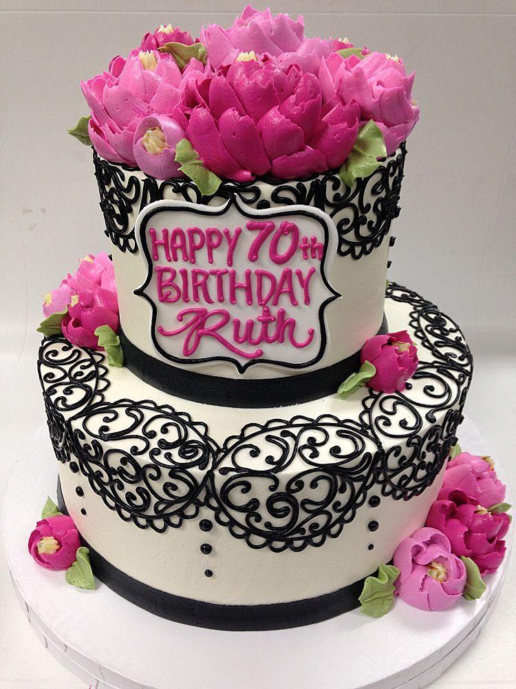 Красивый и вкусный торт на юбилей женщине 80 лет фото 021