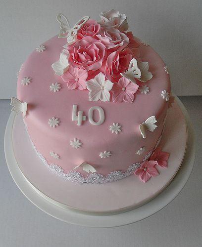Красивый и вкусный торт на юбилей женщине 80 лет фото 026