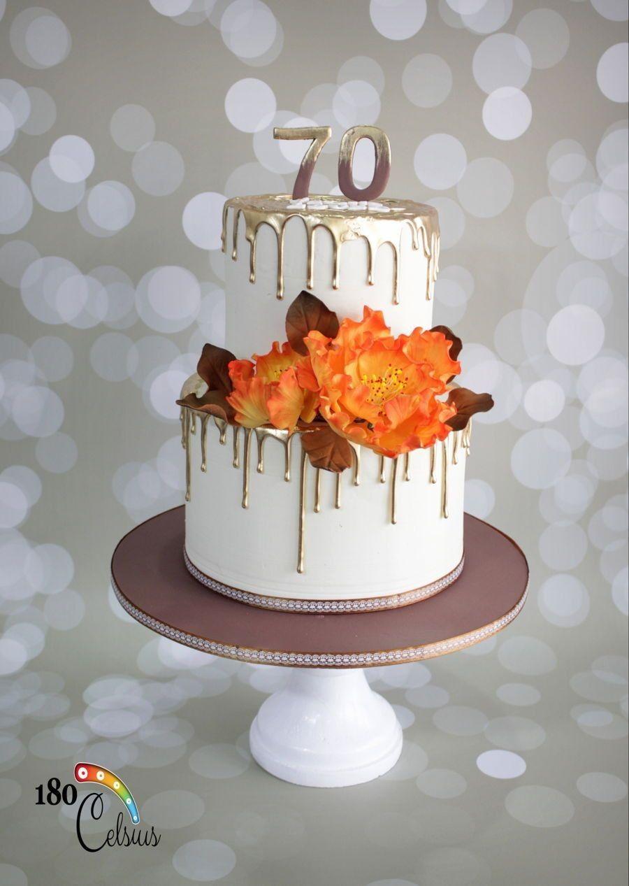 Красивый и вкусный торт на юбилей женщине 80 лет фото 027