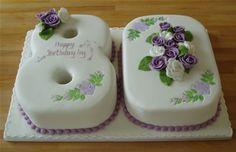 Красивый и вкусный торт на юбилей женщине 80 лет фото 028