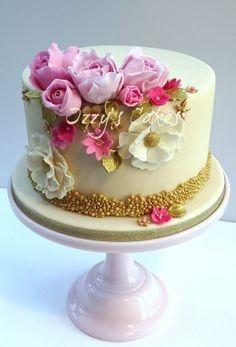 Красивый и вкусный торт на юбилей женщине 80 лет фото 029