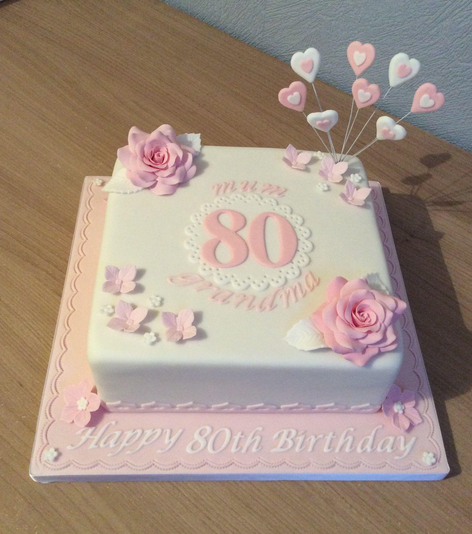 Красивый и вкусный торт на юбилей женщине 80 лет фото 034