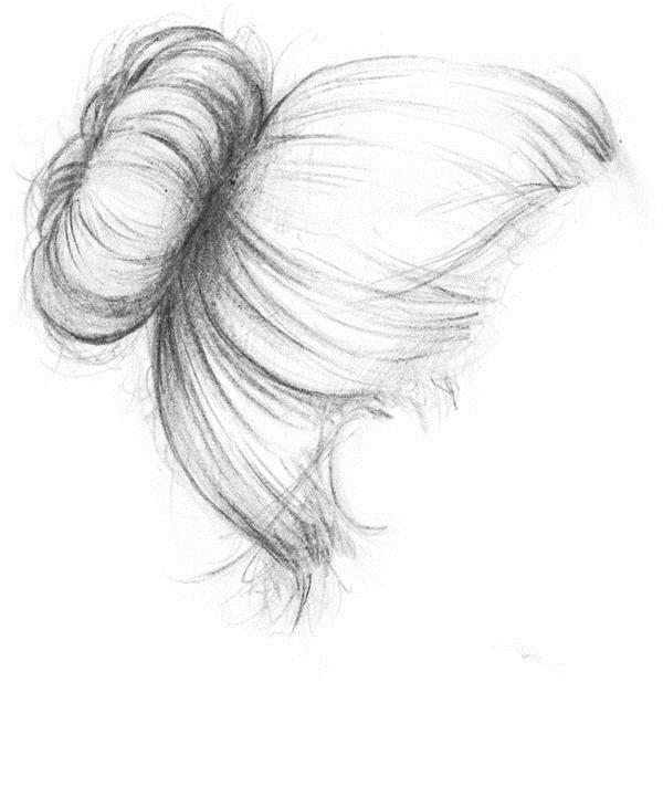 Прически легкие рисунки 001