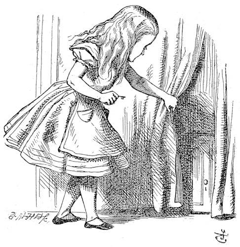 Рисунки алиса в стране чудес герои 019
