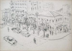 Рисунки карандашом франция 028