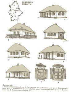 Украинская хата картинки рисунки 030