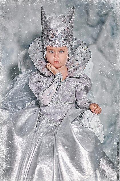 Фото костюма снежной королевы своими руками 001