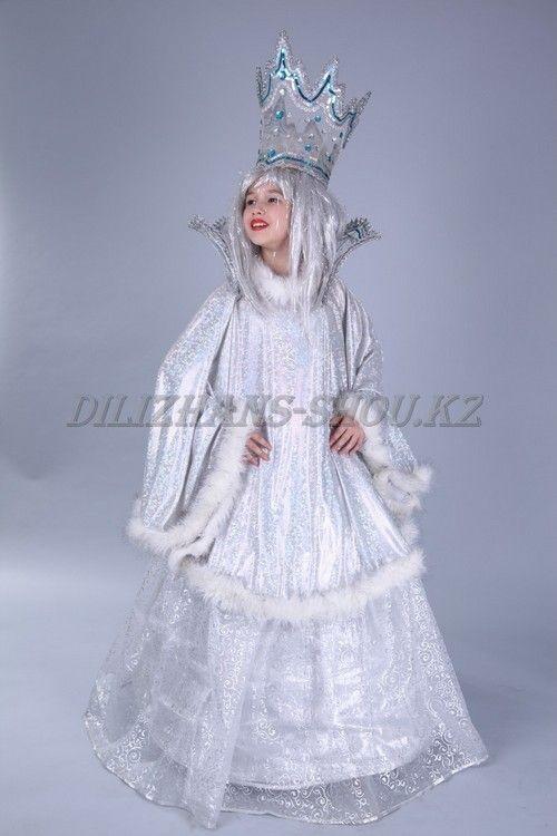 Фото костюма снежной королевы своими руками 002