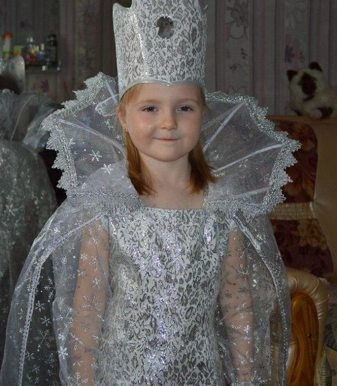 Фото костюма снежной королевы своими руками 003