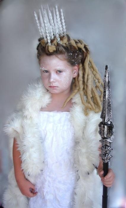 Фото костюма снежной королевы своими руками 004