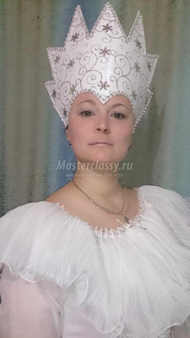 Фото костюма снежной королевы своими руками 006