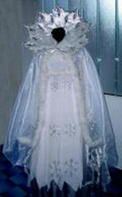 Фото костюма снежной королевы своими руками 007
